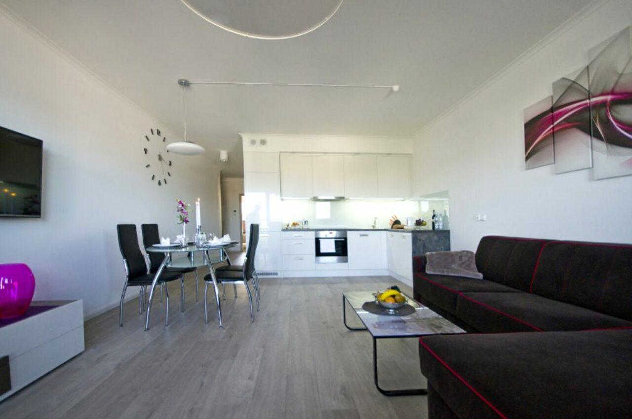 Lägenhet 1 - Vardagsrum