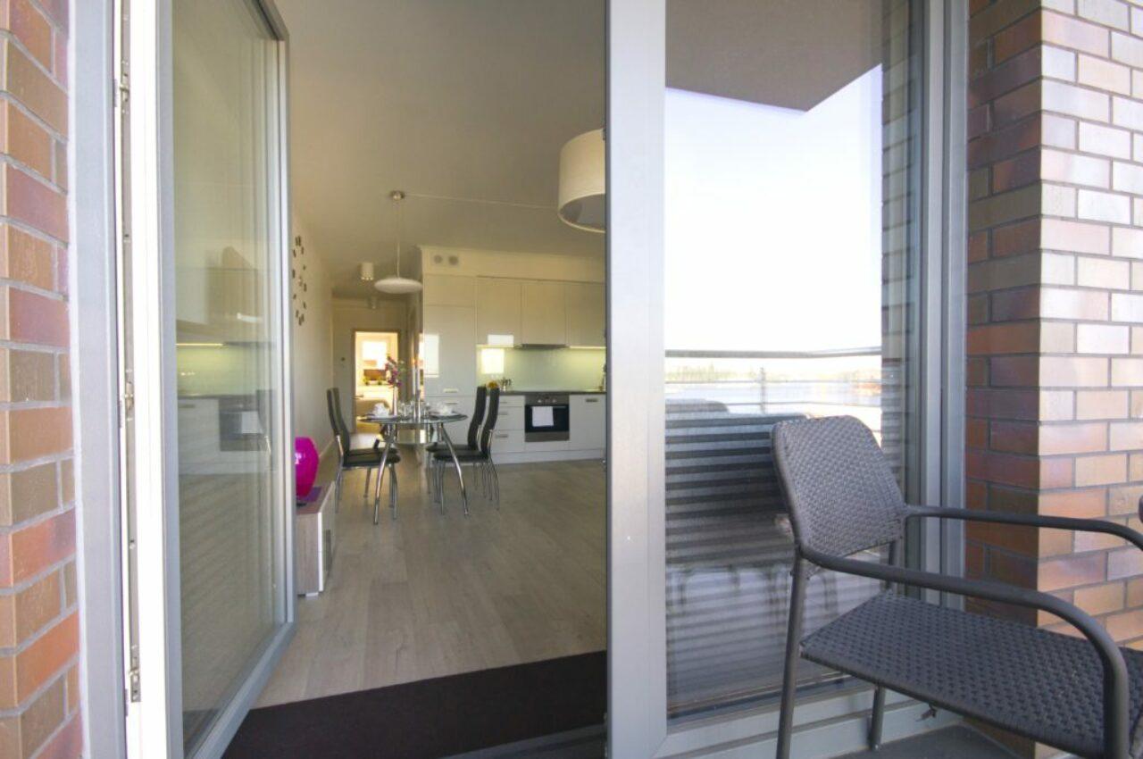 Lägenhet 1 - Balkong