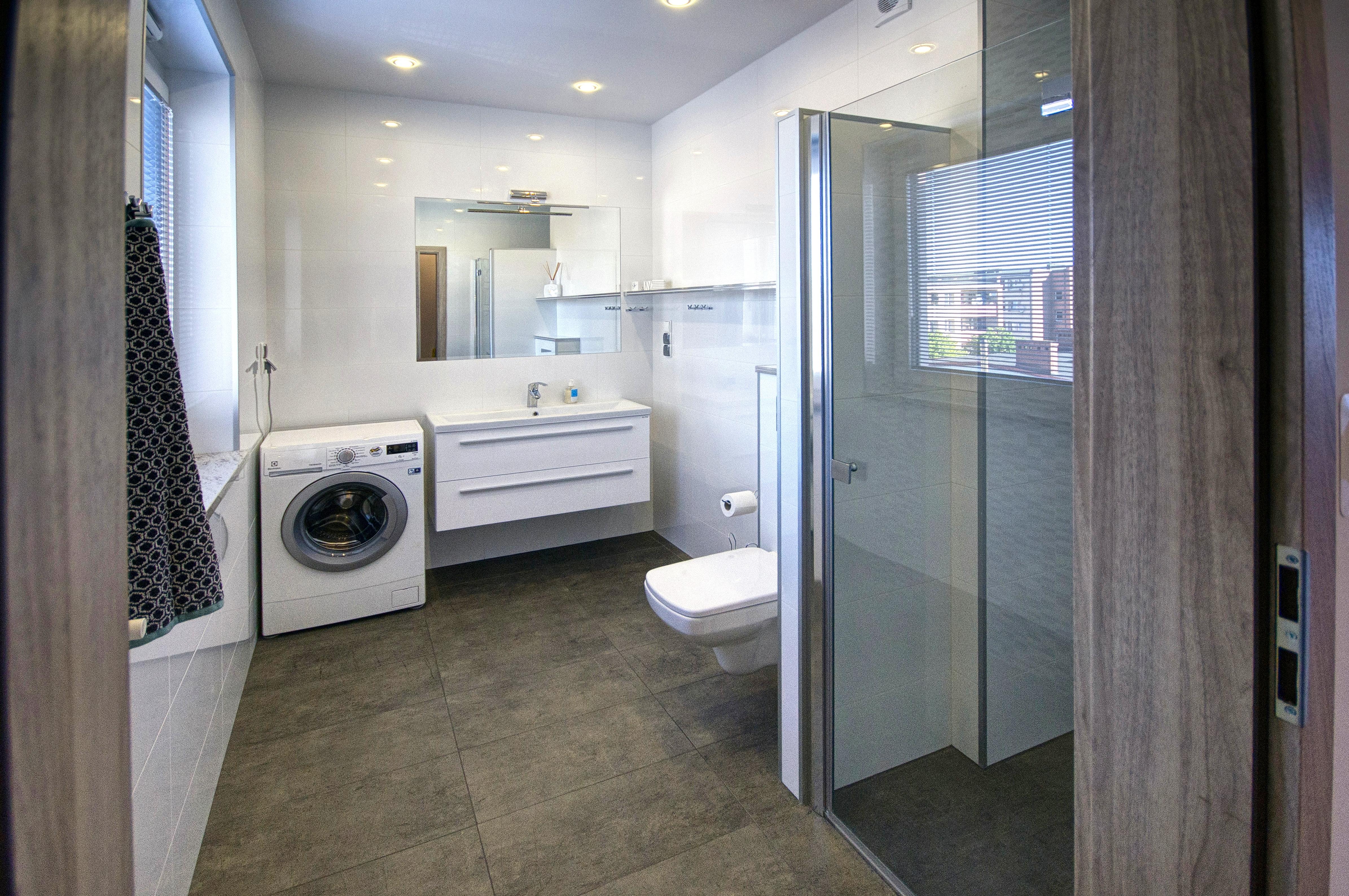 Lägenhet 9 - Badrum
