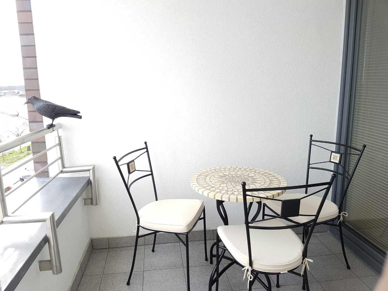 Lägenhet 5 - Balkong